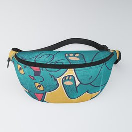 Kitten Laughing Out Loud Fanny Pack