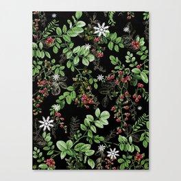 mid winter berries Canvas Print