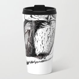 The Owl Metal Travel Mug