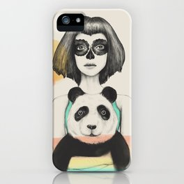 Fostered Existence (Death and Life) iPhone Case
