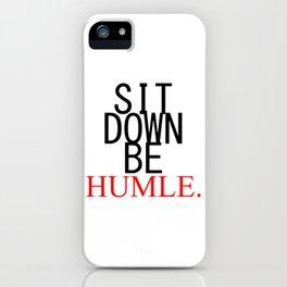 Humble. Kendrick Lamar iPhone Case