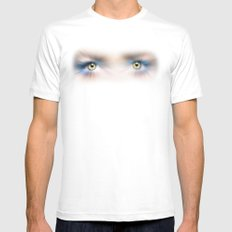 SEE  Everything White MEDIUM Mens Fitted Tee