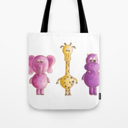 Colourful animals Tote Bag