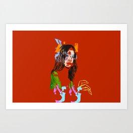 Chloe Bennett Art Print