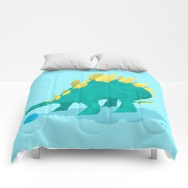Stegosaurus and his Ball Comforters