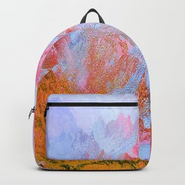 Paint of Mountain Backpack