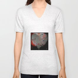 Airport X-Ray Vision Unisex V-Neck