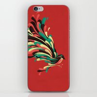 window iPhone & iPod Skins featuring Avian by Jay Fleck
