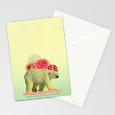 messenger in disguise Stationery Cards