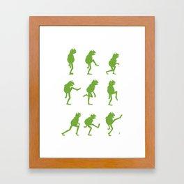 Ministry of Silly Muppet Walks Framed Art Print