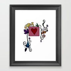 Love Grows, Baby Framed Art Print