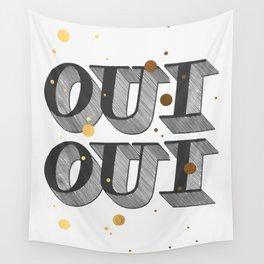 Oui Oui Wall Tapestry