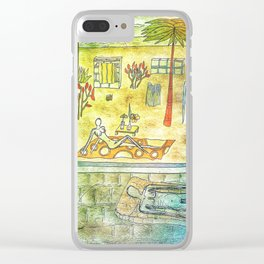 Better than here Clear iPhone Case
