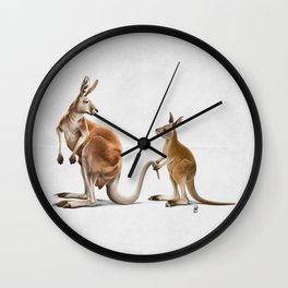 Being Tailed (Wordless) Wall Clock