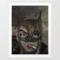 Gotham Vixen Art Print