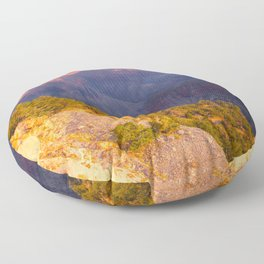 Grand Canyon #2, Fine Art Landscape Photography Floor Pillow