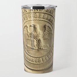Old Bank Deposit Box Travel Mug