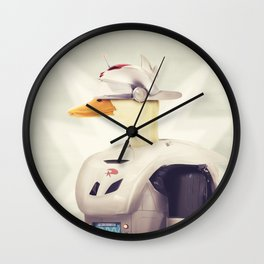Justice Ducks - The Hero Wall Clock