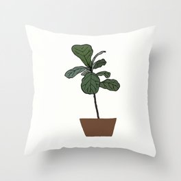 Fiddle Obsession Throw Pillow