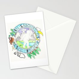 In Sasquatch We Trust Stationery Cards