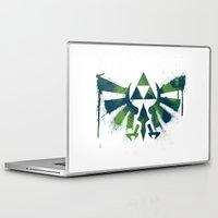 zelda Laptop & iPad Skins featuring Zelda by Bradley Bailey