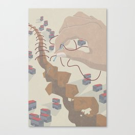 STATES OF EMERGENCY Canvas Print
