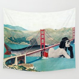 Mermaid Three Wall Tapestry
