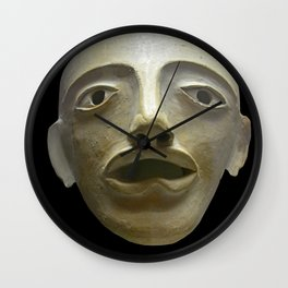 Ancient Greek Mask Wall Clock