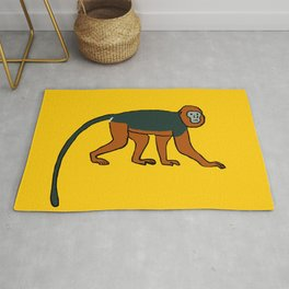 The Intelligent Monkey Rug