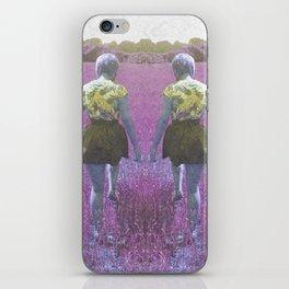 A walk through the grass iPhone Skin