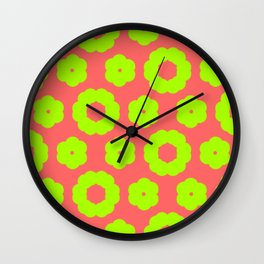 corail and anis Wall Clock