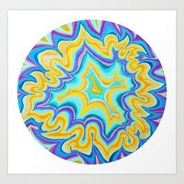 Energy Round 1 Art Print