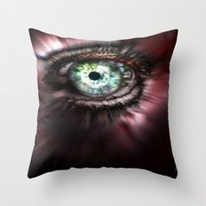 Eye from Above Throw Pillow