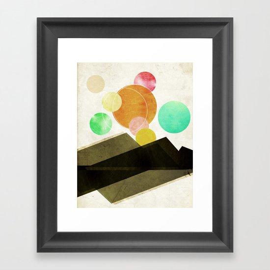 Unclaimed Mountain #1 Framed Art Print