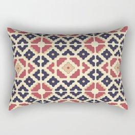 Midcentury Pattern 10 Rectangular Pillow