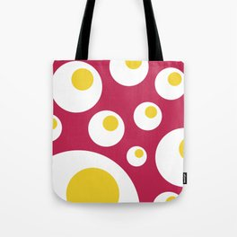 Fried Eggs Rebellion Tote Bag