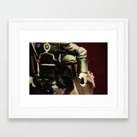 notorious Framed Art Prints featuring Notorious by Gareth Payne