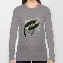 Vinyl Splatter Long Sleeve T-shirt