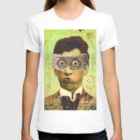 creepy T-shirts featuring UNCLE CREEPY by Julia Lillard Art
