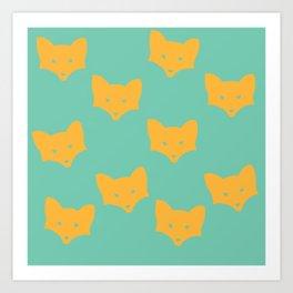 Inner Fox Art Print