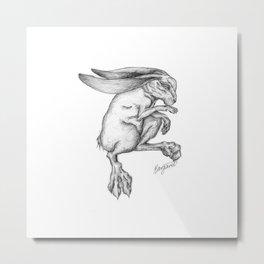 Dead.Hare Metal Print