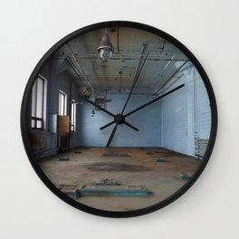 Empty Room Wall Clock