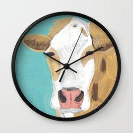A Cow Named Cross Wall Clock
