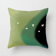 winds of the wings Throw Pillow