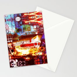 Paradise Sunrise Stationery Cards