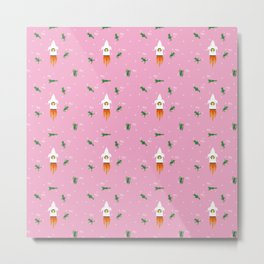 I knew it!! - Fabric pattern Metal Print