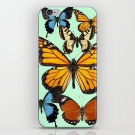 Mariposas- Butterflies iPhone Skin