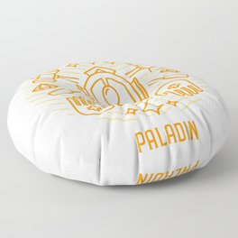 Paladin Emblem Floor Pillow