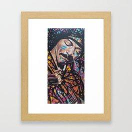 Voodoo Child Framed Art Print