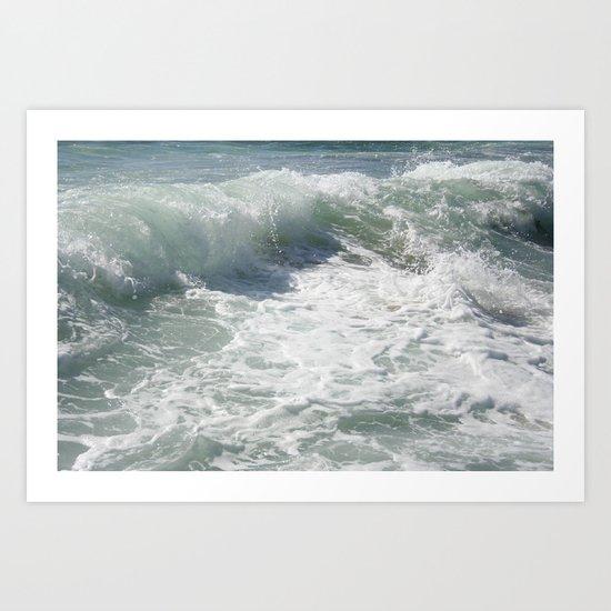 Laguna Wave Art Print